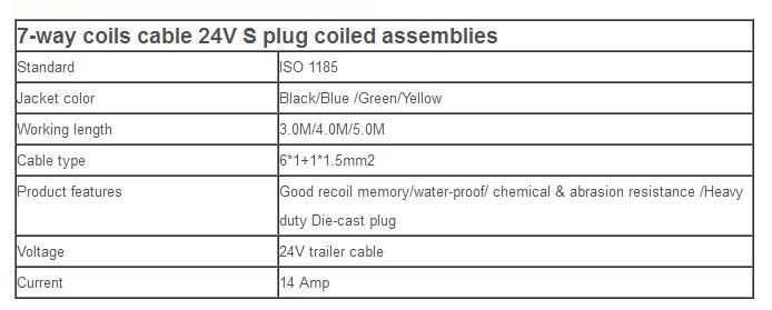 Trailer Cables EC08