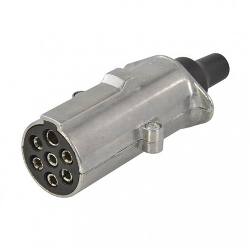 24V 7 pin plug N type, metal