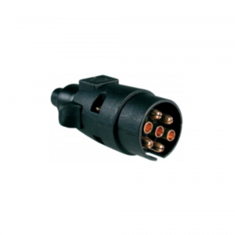 12Volt 7 pin plug, plastic